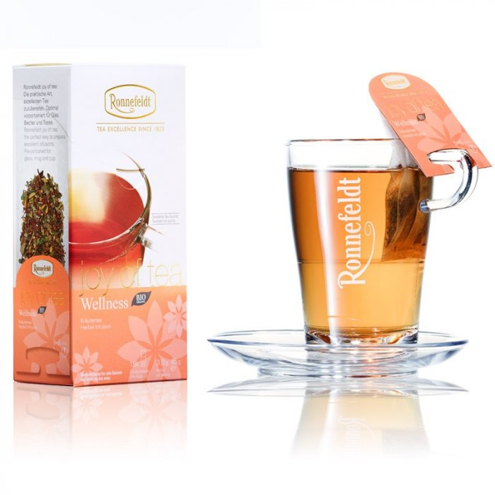 Травяной чай Роннефельдт Велнес • Joy of Tea® Wellness 15*3g
